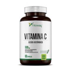 Vitamina C 500mg - 60 Cápsulas - Fitoway