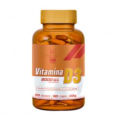 Vitamina D3 - 60 Cápsulas - Health Labs