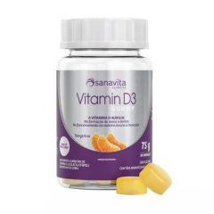 Vitamina D3 Gummy - 30 Unidades - Sanavita