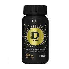 Vitamina D 2000 UI - 60 Softgels - Inove Nutrition