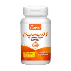 Vitamina D - 60 Cápsulas - Tiaraju