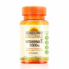 Vitamina E 1000UI - 30 Cápsulas - Sundown