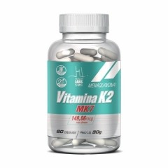 Vitamina K2 - 60 Cápsulas - Health Labs