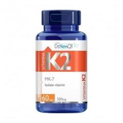 Vitamina K2 (Menaquiona) - 60 Cápsulas - Dr. New QI UpNutri
