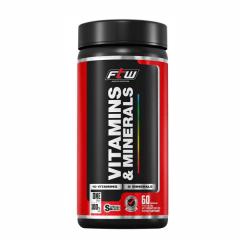 Vitamins & Minerals - 60 Cápsulas - Fitoway