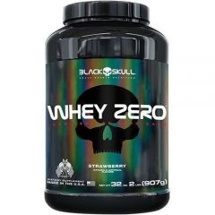 Whey Zero Isolate - 907g(2lbs) - Black Skull