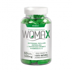 Womax 500mg - 60 Cápsulas