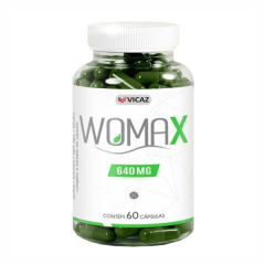 Womax 640mg - 60 Cápsulas - Vicaz