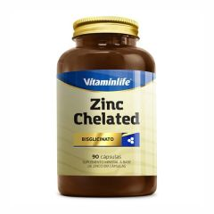 Zinco Chealated - 90 Cápsulas - VitaminLife