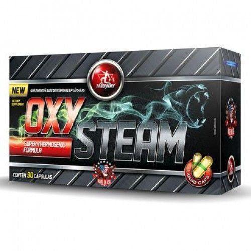 Oxy Steam - 90 cápsulas - MidWay