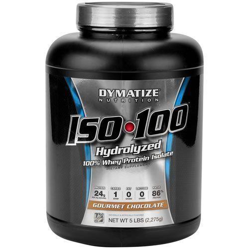 Iso 100 - 2,27Kg (5lbs) - Dymatize Nutrition