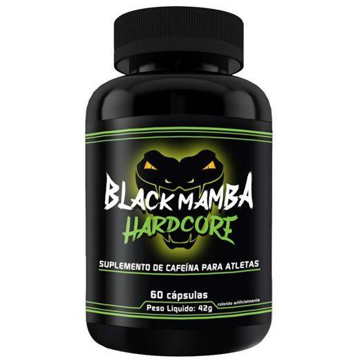 Black Mamba Hardcore - 60 Cápsulas - Intlab