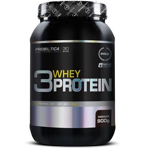 3 Whey Protein - 900g - Probiótica