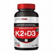 Vitamina K2 + D3 - 30 Cápsulas - ClinicMais