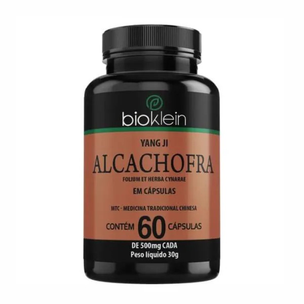 Alcachofra - 60 Cápsulas - Bioklein