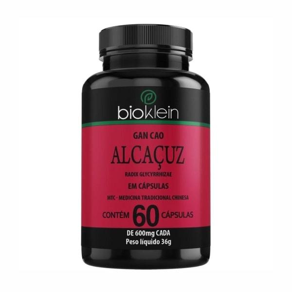 Alcaçuz - 60 Cápsulas - Bioklein