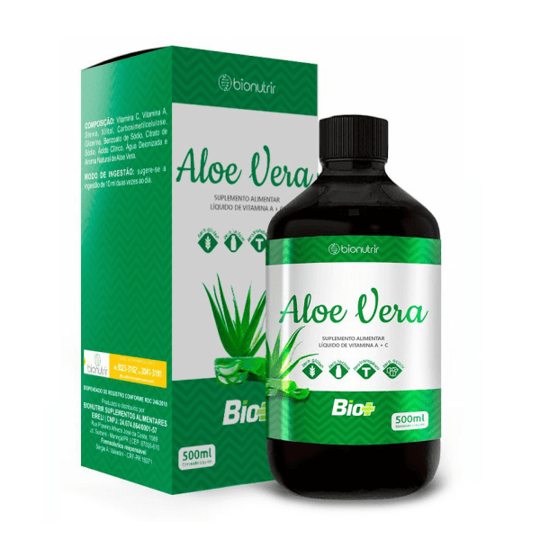 Aloe Vera - 500ml - Bionutrir
