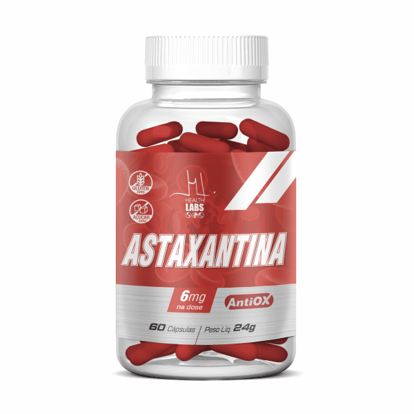 Astaxantina - 60 Cápsulas - Health Labs