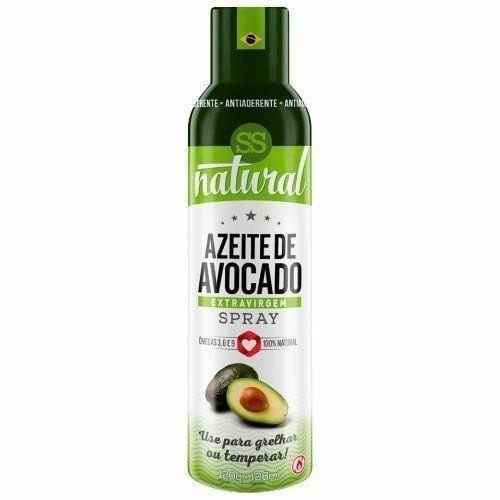 Azeite de Avocado Spray Extra Virgem - 128ml - SS Natural