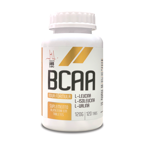 BCAA - 120 Tabletes - Health Labs