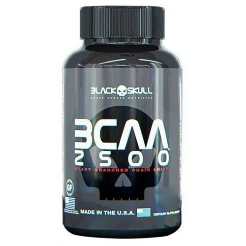 BCAA 2500 - 60 Cápsulas - Black Skull