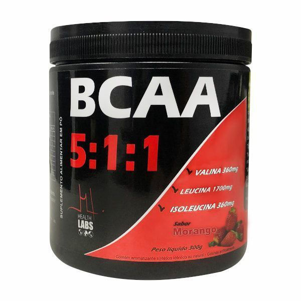 BCAA 5:1:1 - 300g - Health Labs
