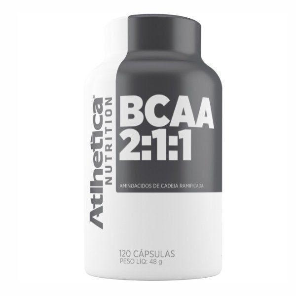 BCAA Pro Series - 120 Cápsulas - Atlhetica Nutrition