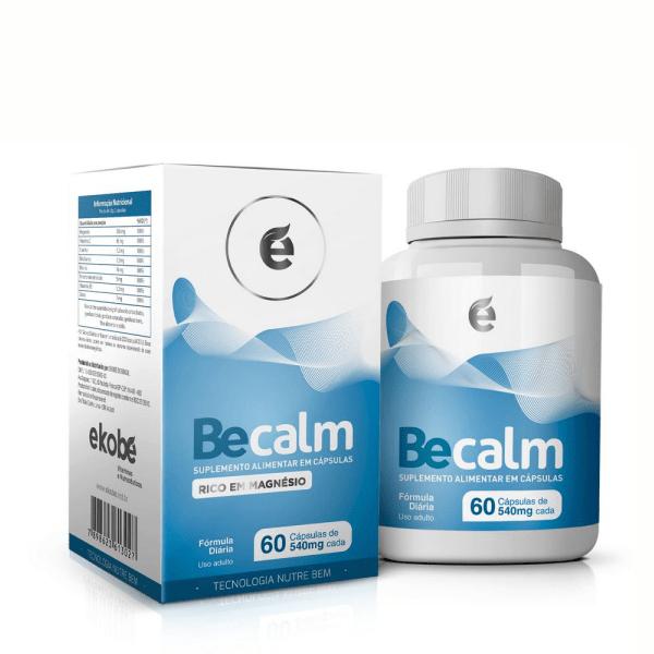 Becalm - 60 Cápsulas - Ekobé