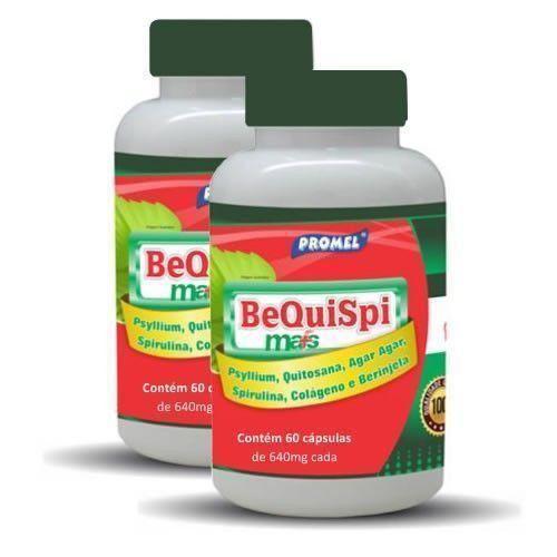 Bequispi Mais - 60 Cápsulas - Promoção 2 Unidades - Promel