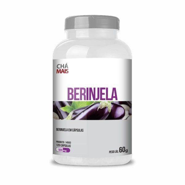Berinjela - 120 Cápsulas - Chá Mais
