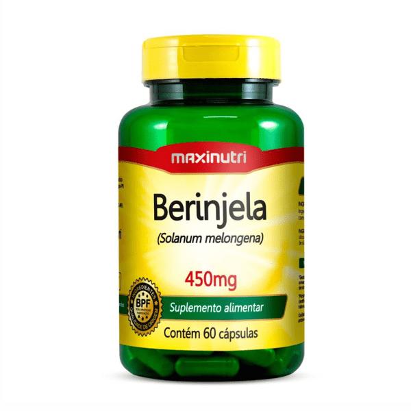 Berinjela - 60 Cápsulas - Maxinutri