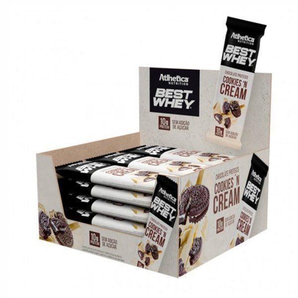 Best Whey Chocolate Proteico - 50g - Atlhetica Nutrition