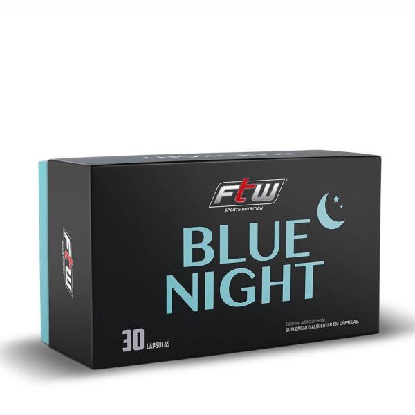 Blue Night - 30 Cápsulas - Fitoway