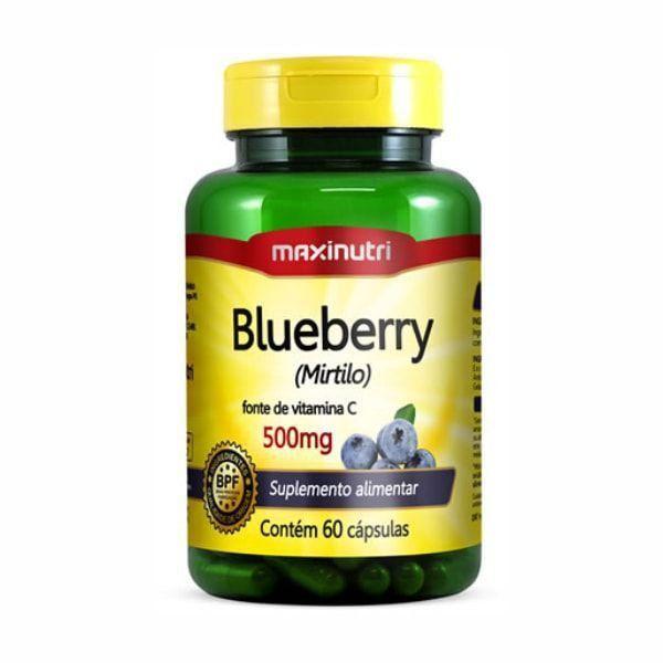 Blueberry (Mirtilo) - 60 Cápsulas - Maxinutri