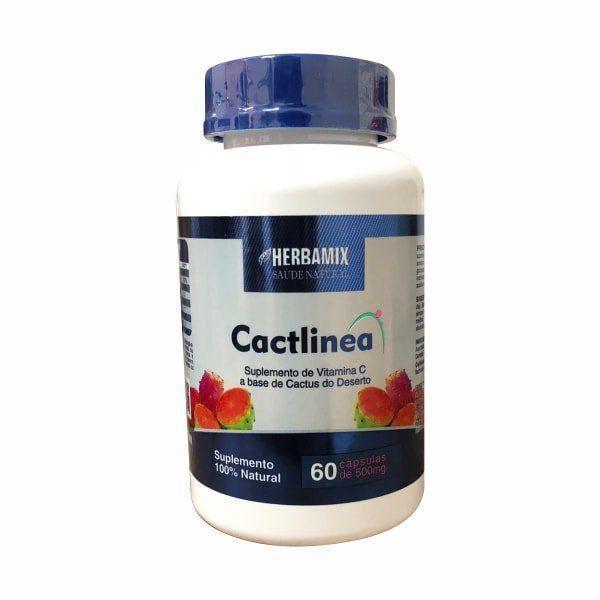 Cactlinea 500mg - 60 Cápsulas - Herbamix