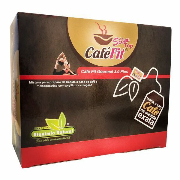 Café Fit Slim Top - 30 Sachês - Alquimia Natural