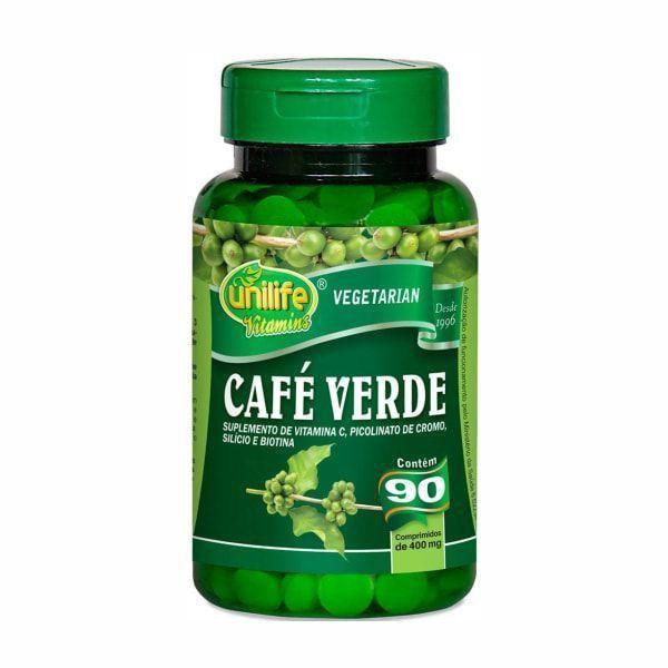 Café Verde - 90 Cápsulas - Unilife