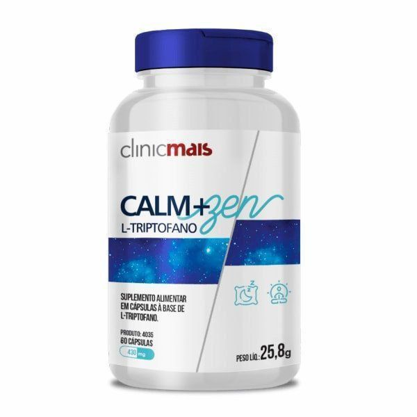 Calm+Zen - 60 Cápsulas - ClinicMais