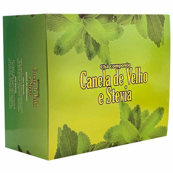 Canela de Velho e Stevia - 30 Sachês - Vida Natural