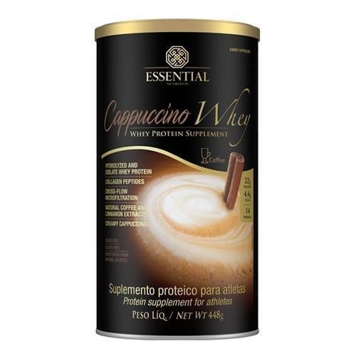 Cappuccino Whey - 448g - Essential Nutrition