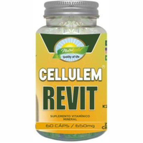 Cellulem Revit (Cellulem Pro 32 Seca Barriga) - 60 Cápsulas - Nutri Gold