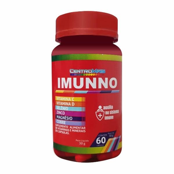CentroMais Imunno - 60 Cápsulas - Aroma