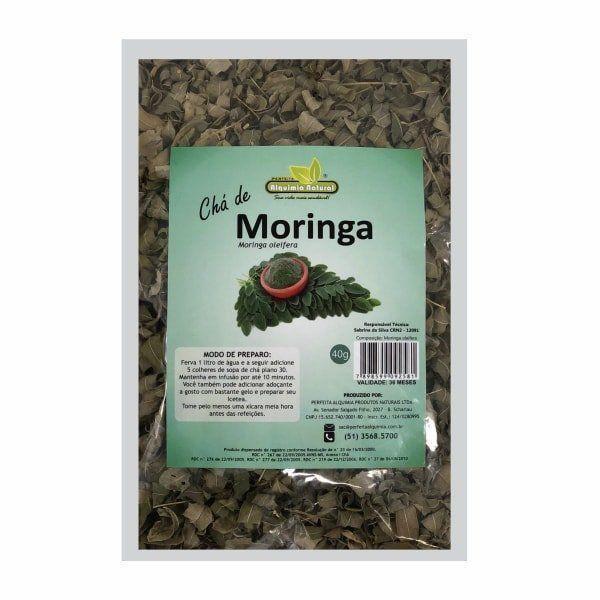 Chá de Moringa Oleifera - 40g - Alquimia Natural