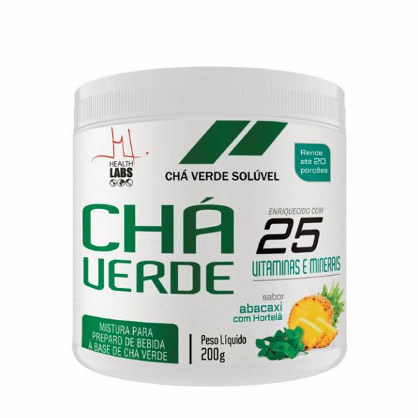 Chá Verde - 200g - Health Labs