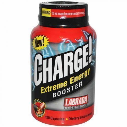 Charge Extreme Energy Booster - 120 Cápsulas - Labrada Nutrition