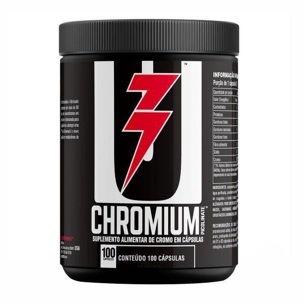 Chromium Picolinate - 100 Cápsulas - Universal