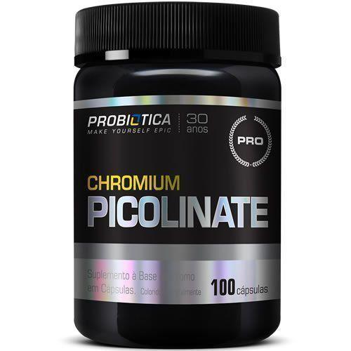 Chromium Picolinate HBV - 100 Cápsulas - Probiótica