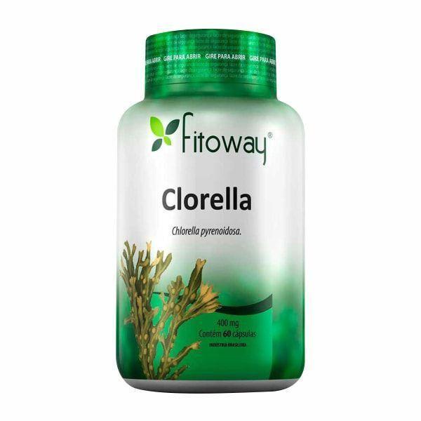 Clorella - 60 Cápsulas - Fitoway