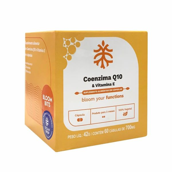 Coenzima Q10 - 60 Cápsulas - Bloom Bits