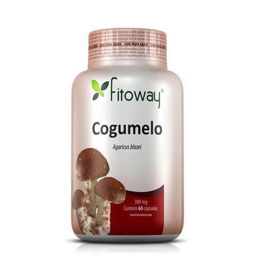 Cogumelo Agaricus Blazei - 60 Cápsulas - Fitoway
